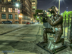 Say Woof! [Week 17, 2016] (Brian D' Rozario) Tags: city urban dog newyork statue brooklyn nikon photographer exploration hdr highdynamicrange urbex d7k d7000 tokina1116mmf28 giveusyourbestshot briandrozario brian19869 522016week17