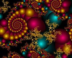 Summer Nights (abstractartangel77) Tags: spiral fractal summernights ultrafractal ttsourceimage20may2016 fractalstars