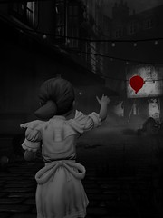 Sally in Sin City^^ (Skyline*) Tags: city sea sally sin burial infinite bioshock
