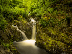 Silky. (Ian Emerson (Looking forward to a Scotland trip)) Tags: longexposure trees water beauty canon waterfall moss rocks natural yorkshire falls serene hoya beezley ndx400