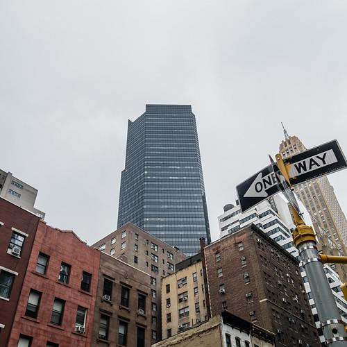 ONE WAY   new york city, september 2014   #LumixGX7