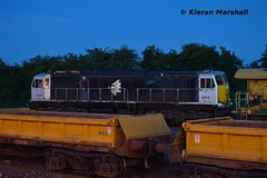 083 at Portarlington, 27/6/16 (hurricanemk1c) Tags: irish train gm rail railway trains railways irishrail pwd generalmotors portarlington 2016 emd 083 071 iarnrd ireann iarnrdireann