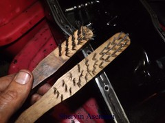Mastermanship 4 by Shervin Asemani (76) (SheRviNRRR) Tags: oil pan gasket sitting surface preparation process wire brush