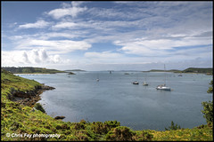 Peaceful bay (chrisfay55) Tags: islesofscilly seascape bay boats island cornwall uk england