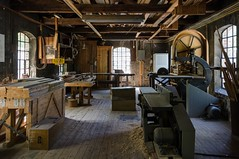 The carpenter's (AstridWestvang) Tags: industry museum historical oppland kistefoss