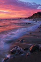 S Curve (michaelhindman.com) Tags: california sunset beach pacificocean hwy1