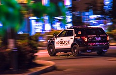 Easton Pa, Police Cruiser (a2roland) Tags: motion blur car night lights automobile colorful cops angle zoom pennsylvania background wheels 911 perspective police tires pa late subject emergency cruiser easton normanzeba2rolandyahoocoma2roland