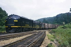 Clinchfield F's on Marion Local at Altapass (crr200) Tags: crr clinchfield altapass blueridge f7