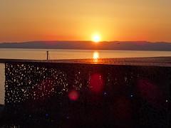 Le Mucem @ Sunset (Hlne_D) Tags: sunset sea mer france museum marseille muse paca provence mediterraneansea vieuxport coucherdesoleil mditerrane bouchesdurhne mermditerrane fortstjean provencealpesctedazur diguedularge fortsaintjean mucem musedescivilisationsdeleuropeetdelamditerrane hlned mucemmarseille