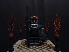 Superior Angel Guard (joaqunechavarra) Tags: lego fantasy scifi minifig custom vignette minifigure moc purist