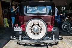 1934 Hupmobile rear (kryptonic83) Tags: 1934 hupmobile oldcars