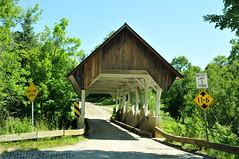 Greenbanks Hollow Bridge (Paula Stephens) Tags: road bridge building rural vintage vermont newengland landmark structure historic danville covered transportation americana vt greenbankshollow