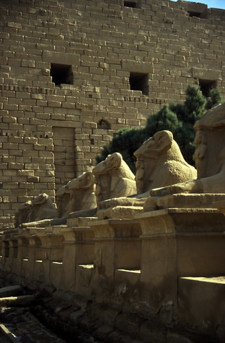 "Ägypten 1999 (314) Karnak-Tempel: Sphingenallee • <a style=""font-size:0.8em;"" href=""http://www.flickr.com/photos/69570948@N04/28271842224/"" target=""_blank"">View on Flickr</a>"