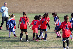 Soccer Fun! (Vegan Butterfly) Tags: soccer children kids cute adorable sports fun outside outdoors u8 football ball exercise fitness city urban people candid together teams teamwork play playing game homeschool homeschooling vegan