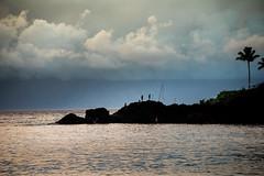 Black Rock Beach, Maui (gacrichards) Tags: travel beach clouds island hawaii pacific maui palmtrees cliffdiving blackrockbeach