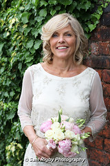 Knowsley Register Office - Sue & Ray - Wedding - 11th August 2016 (Sam Rigby Photo) Tags: wedding day marriage vows love knowsley register office prescot bride groom photography photographer female north west gazebo bouquet hand tied peonies roses button hole