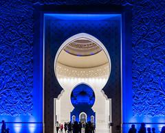 Sheikh Zayed Mosque, Abu Dhabi (hacenem) Tags: abudhabi sheikhzayedmosque uae