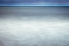 Duridge bay (catkin314) Tags: seascape icm intentionalcameramovement water sea thesea northumberland horizon blue blur blurism coast myphotostreamhasabluetheme