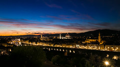 Firenze (Jaio.Ne) Tags: florencia firenze florence tuscany toscana sunset night evening light duomo ponte vecchio italia italy