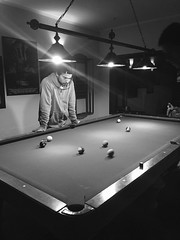 Pool night (franba@rocketmail.com) Tags: bolas juego persona man pool