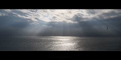 Divinity (Rodney Campbell) Tags: lccp water southcoast godrays ocean montagueisland clouds newsouthwales australia au