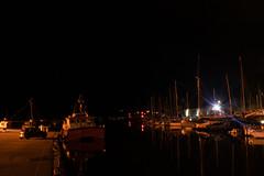 (VampireBassist) Tags: night ilobsterit lights penryn falmouth cornwall urban streets dock docks boats