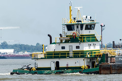 BROWN WATER XI (Matt D. Allen) Tags: tugboat houstonshipchannel shipspotting