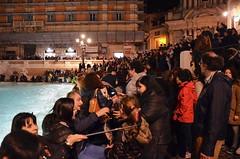 The Crowd At The Trevi Fountain (Joe Shlabotnik) Tags: italy italia trevifountain roma march2016 fountain rome 2016 afsdxvrzoomnikkor18105mmf3556ged