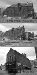 5 Parr Street/Slater Place, near Wolstenholme Square, Liverpool 1, UK.  21 June 2016. (philipgmayer) Tags: 1000 demolished warehouse
