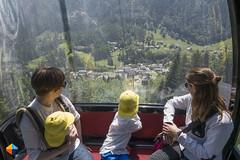 Up with the cable car (HendrikMorkel) Tags: austria family sterreich bregenzerwald vorarlberg sonyrx100iv mountains alps alpen berge natursprngewegbrandnertal