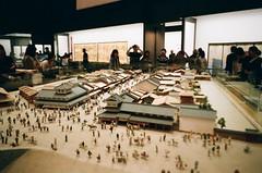 Edo Tokyo Museum, Japan (joshua alderson) Tags: ae86 r32 odaiba skyline japan tokyo fujifilm fuji klassew analog 35mm film kasai rinkai park edo museum natura 1600