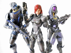 Intergalactic Problem Solvers (Homicide_Crabs) Tags: mass effect playarts play arts kai square bioware garrus vakarian talizora tali commander shepard jfigure masseffect