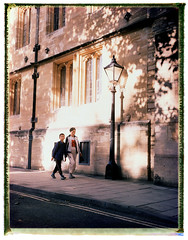 St Giles, Oxford (D:R) Tags: fujifp100c silk packfilm polaroid110b instantfilm epsonv700 fourdesigns landcamera recoveredneg