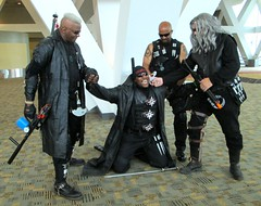 Blade and Whistler (MorpheusBlade) Tags: 2016baltimorecomiccon cosplay costume comicon blade daywalker vampirehunter