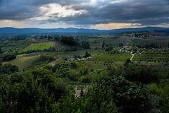 Tuscany landscape (marcmayer) Tags: cloudy sommer summer toskana tuscany italia italien italy landscape clouds wolkig nikon d5200 sigma