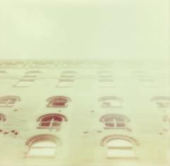 sugar factory (lawatt) Tags: film brooklyn factory sugar instant domino slr680 theimpossibleproject color600