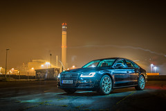 Audi A8 (AudiBloggen) Tags: matrix night sedan led vision audi a8 quattro audibloggen 385hk