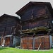 Granges, village de Selkingen, commune de Grafschaft, district de Conches, canton du Valais, Suisse.