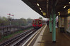 RD10572.  London Underground 1992 Central Line Tube Stock at Greenford. (Ron Fisher) Tags: uk greatbritain england pentax unitedkingdom gb londonunderground centralline greenford pentaxkx 1992tubestock