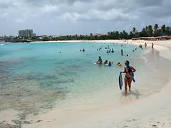 Mullet Bay Beach, St Maarten.
