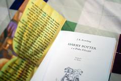 O menino que sobreviveu (Ed Schramm) Tags: book bed pages letters harry potter books shelf livro hogwarts jk rowling