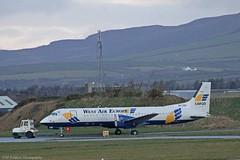 West Air Europe BAe ATP SE-LNX at Isle of Man EGNS 12/12/14 (IOM Aviation Photography) Tags: man west europe air atp bae isle 121214 egns selnx