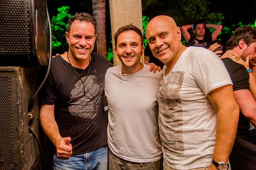 Didio Mendes, Felipe Tiradentes e Jose Manso
