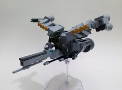 Halo Legends: The Package Booster Frame (funnystuffs) Tags: open lego chief halo master frame legends activity custom package extra booster 91 mega vehicular bloks