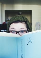I read sometimes. (tara dee) Tags: reading glasses eyes books idol 365 project365 lenadunham