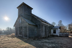 Closed for Business (Barry Freas) Tags: old church tn adams decay tennessee spooky abandonded