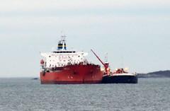 STI Meraux (jelpics) Tags: ocean sea boston port harbor boat ship massachusetts vessel anchorage anchor bostonma tanker bostonharbor merchantship astirlady