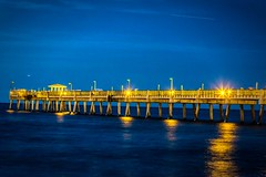 Dania Beach Pier Full Moon2014_11_06 (photocat001) Tags: water pier interesting fullmoon excitement daniabeach