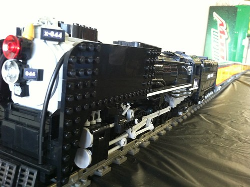 lego union pacific city of los angeles passenger train a photo on