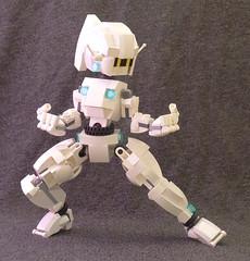 Gynoid07 (lingonkart) Tags: girl female robot lego sleek robotgirl android gynoid femalerobot girlrobot